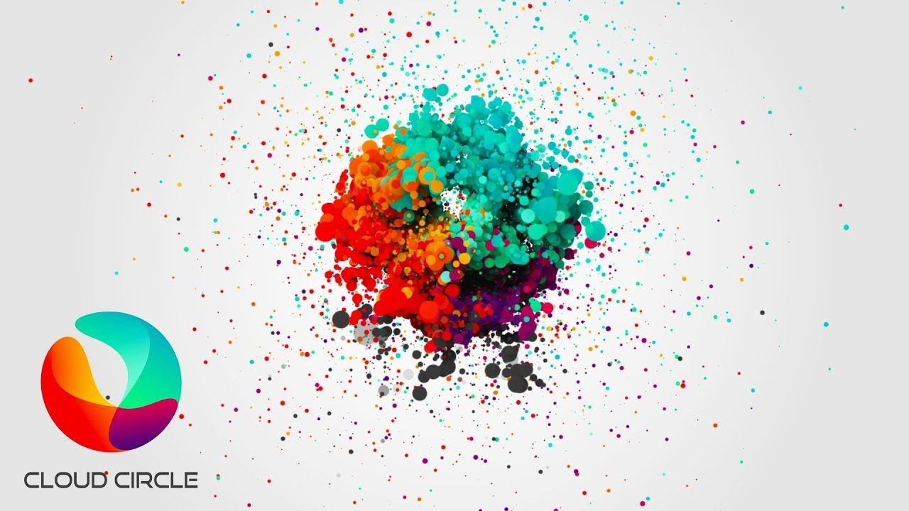 After Effects Cc 2018 Particle Logo Animation With Images