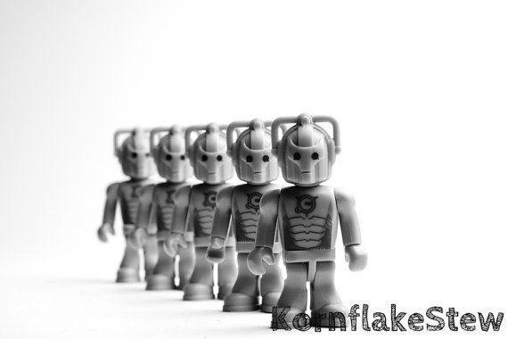 Dr Who Cyberman Photography Print 10x8 Wall Art by KornflakeStew, £10.00