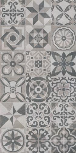 Florence patchwork decor floor tiles 50x50cm these vintage for Decorative spanish tile