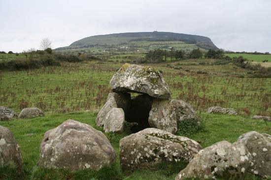 Carrowmore Megalithic Tombs - some of these graves and stone circles are 7,000 years old!