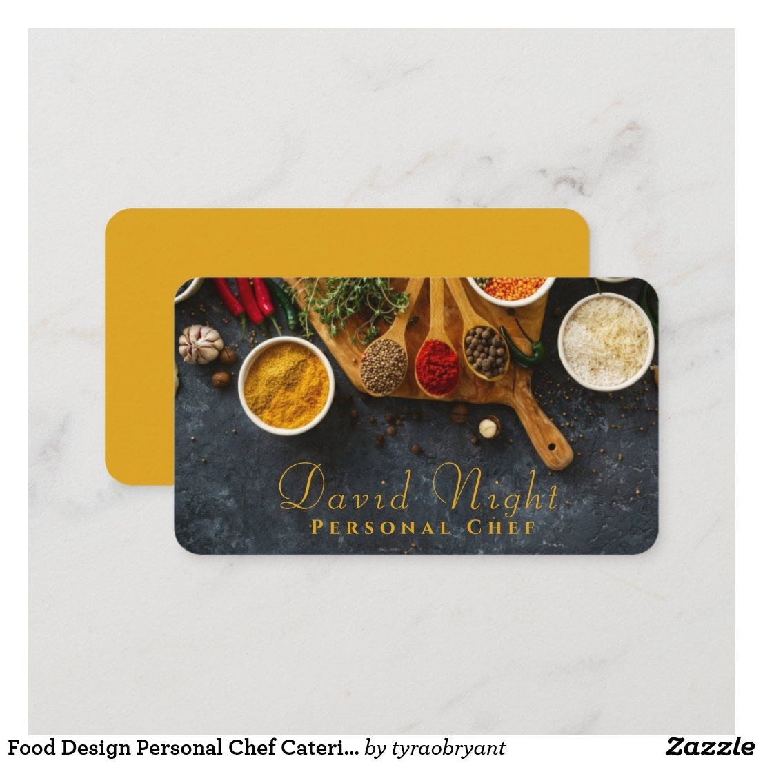 Food Design Personal Chef Catering Business Card Zazzle Com Catering Business Cards Restaurant Business Cards Food Business Card Design
