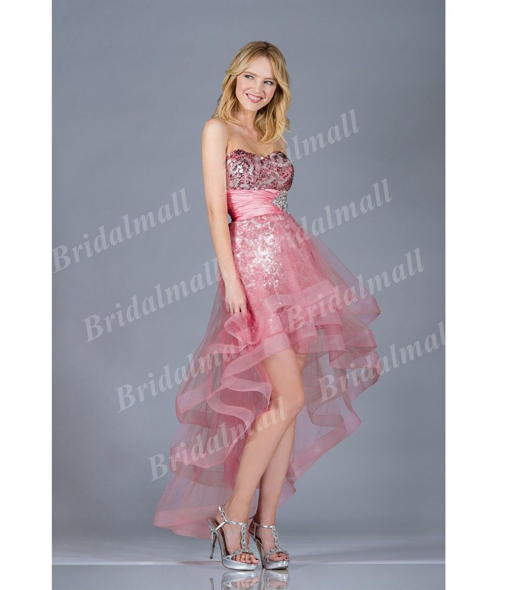 prom dresses sewing patterns online   ... Sequins High Low Evening ...
