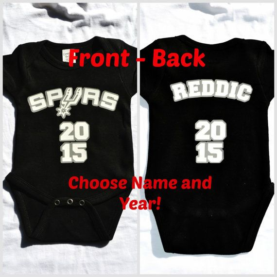 more photos fc109 3849d san antonio spurs baby jersey