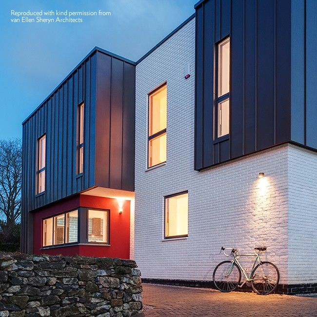 Exterior Garage Downlights: Wall Down Light PURE LED, By New Zealand's Hunza