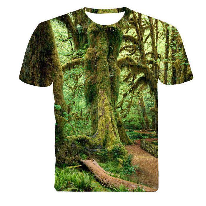 b69ead36 Men Fashion 3D Animal Creative T-Shirt, Lightning/smoke lion/lizard/water  droplets 3d printed short sleeve T Shirt M-4XL