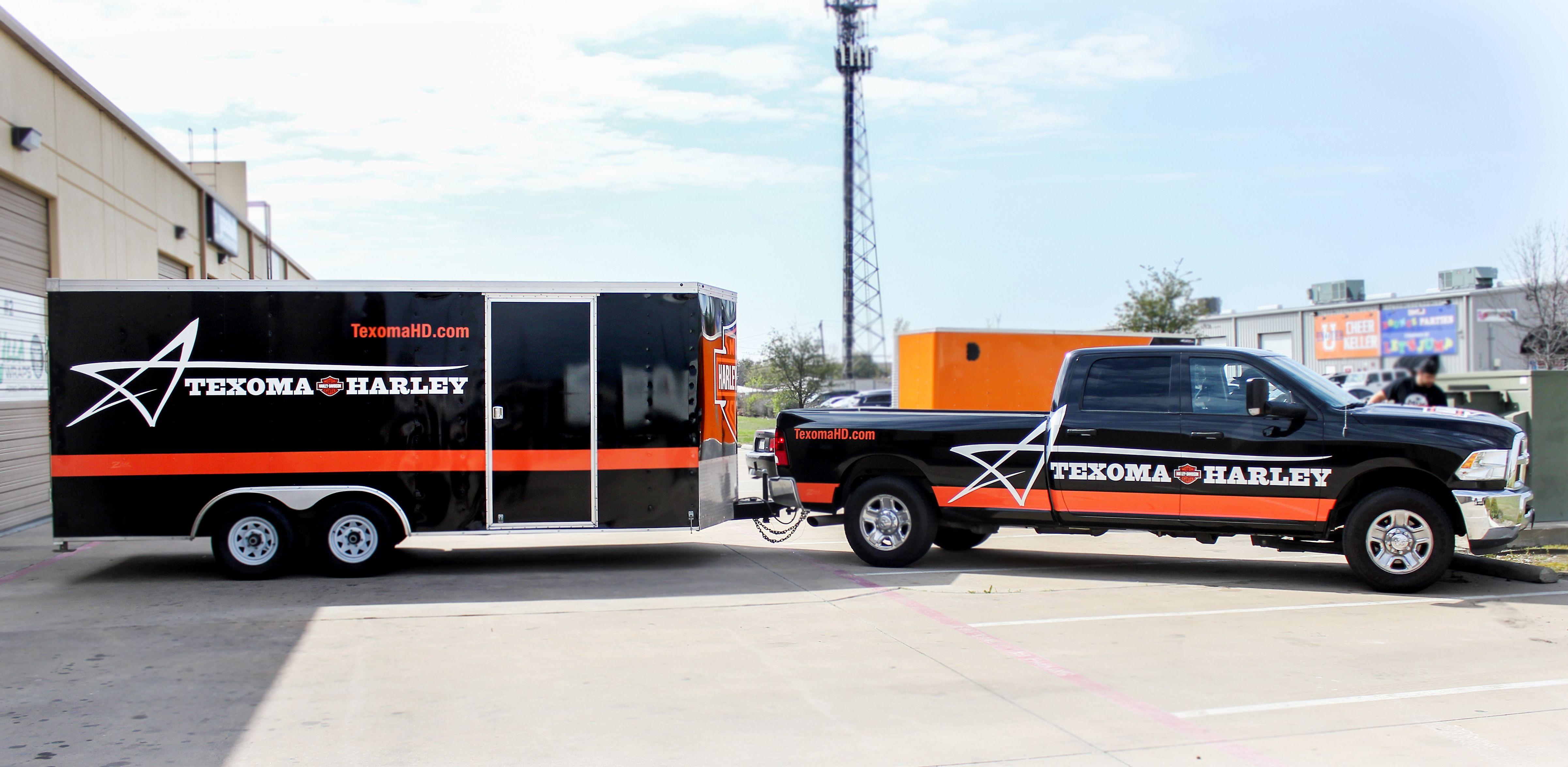 Texas harley davidson truck