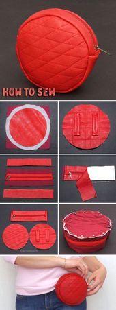 Photo of Belt Bag Tutorial  Belt Bag Sew Tutorial ~ Step by step illustration. #bag #tuto…