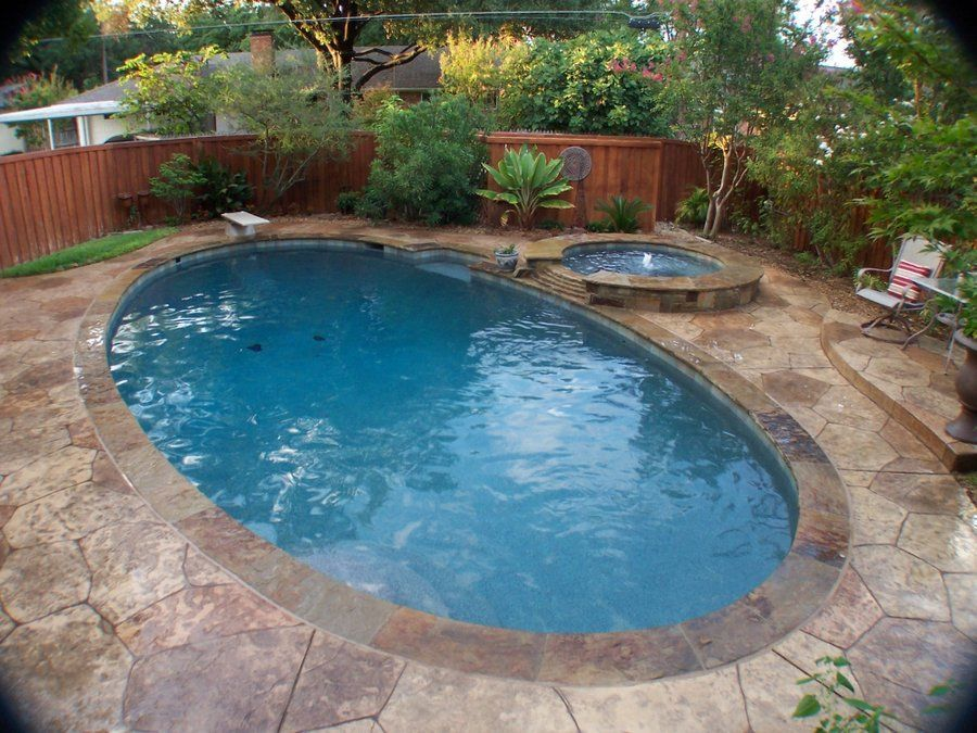 Back Yard pool Renovations Before and After (With images ...