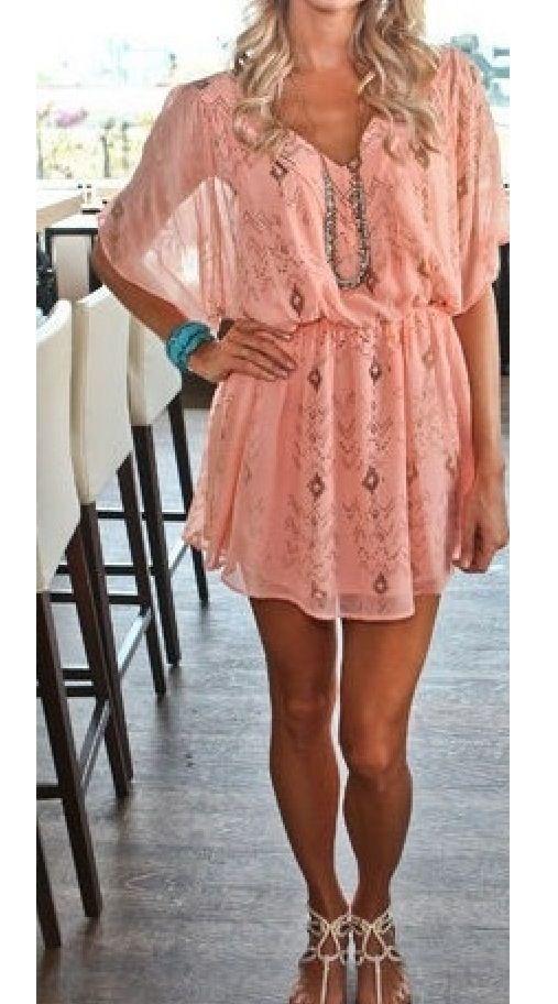 Such a pretty dress..