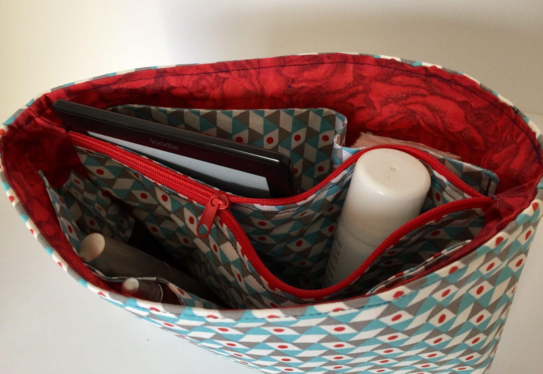 Organizer Taschen Organisator Taschenordner Fächertasche Geschenk von madameLotta auf Etsy