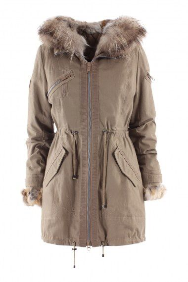 A parka is absolutely necessary for the winter, and smart to have it in a neutral colour