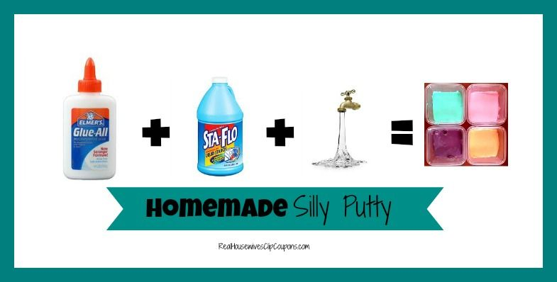 Homemade Silly Putty Recipe With Liquid Starch - sooo easy!