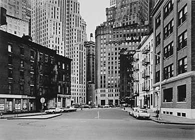 Thomas Struth, Coenties Slip, New York (Wallstreet) 1978