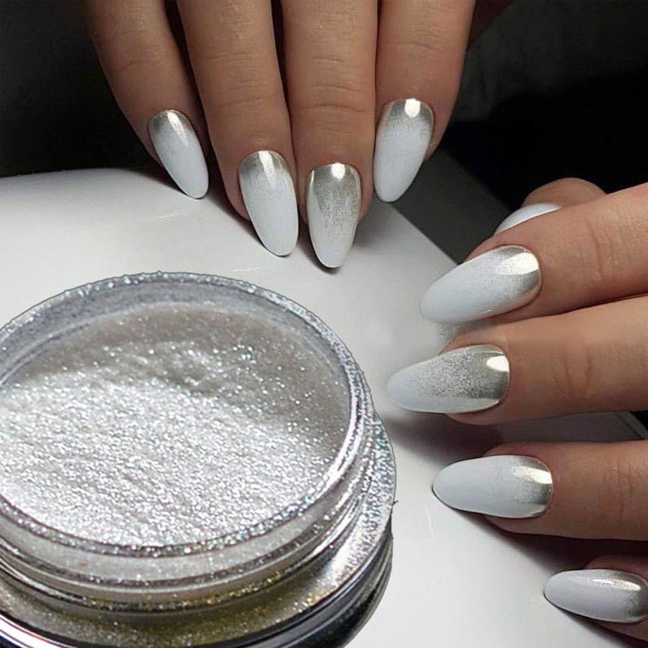 Silver Mirror Magic Pigment Powder
