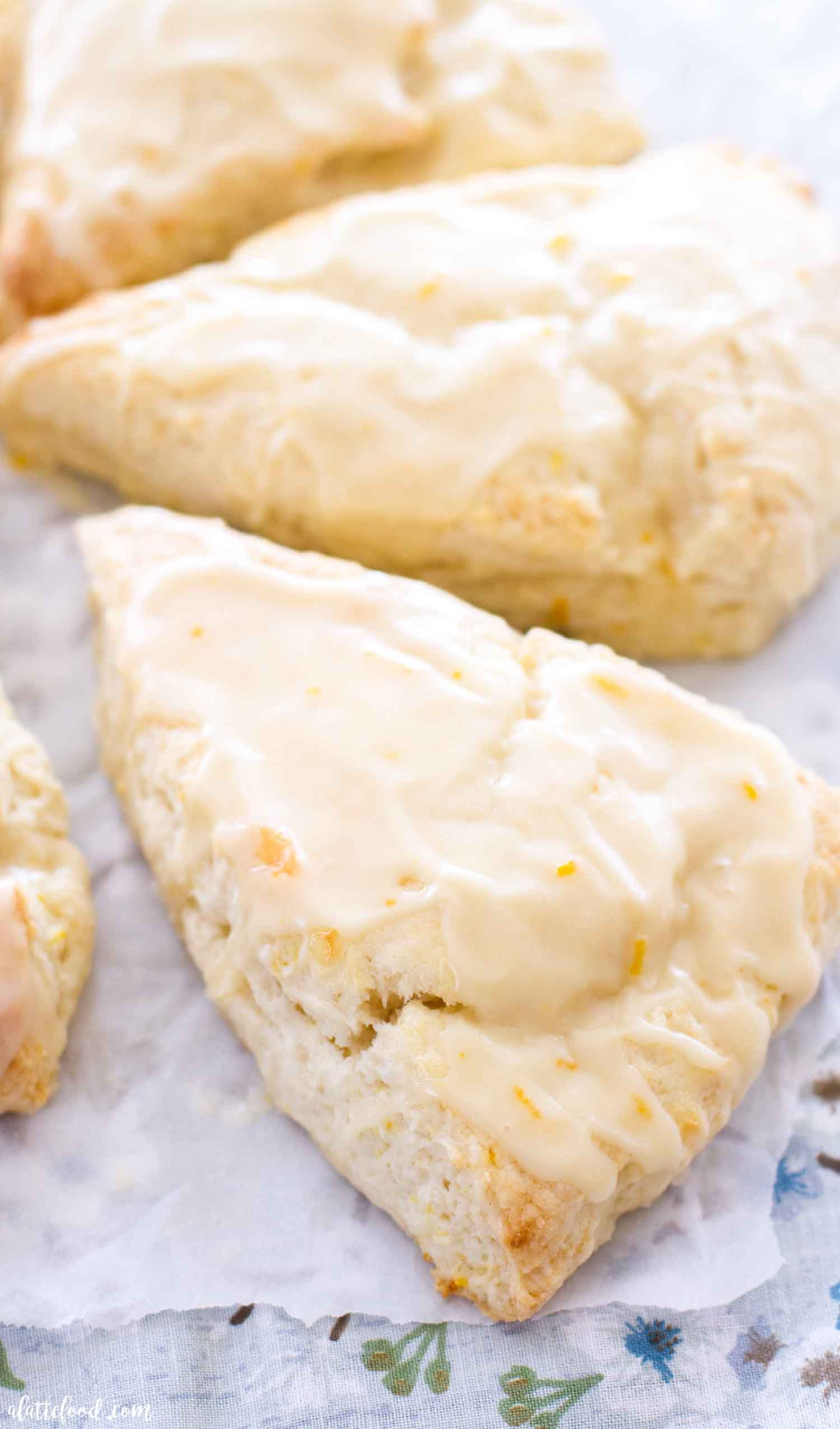 The Best Orange Scone Recipe Begins With Sour Cream Seriously The Sour Cream And Heavy Cream Make In 2020 Homemade Scones Orange Scones Recipe Summer Dessert Recipes
