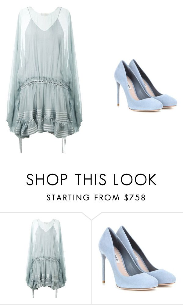 """Untitled #383"" by ootori5sos on Polyvore featuring Chloé and Miu Miu"