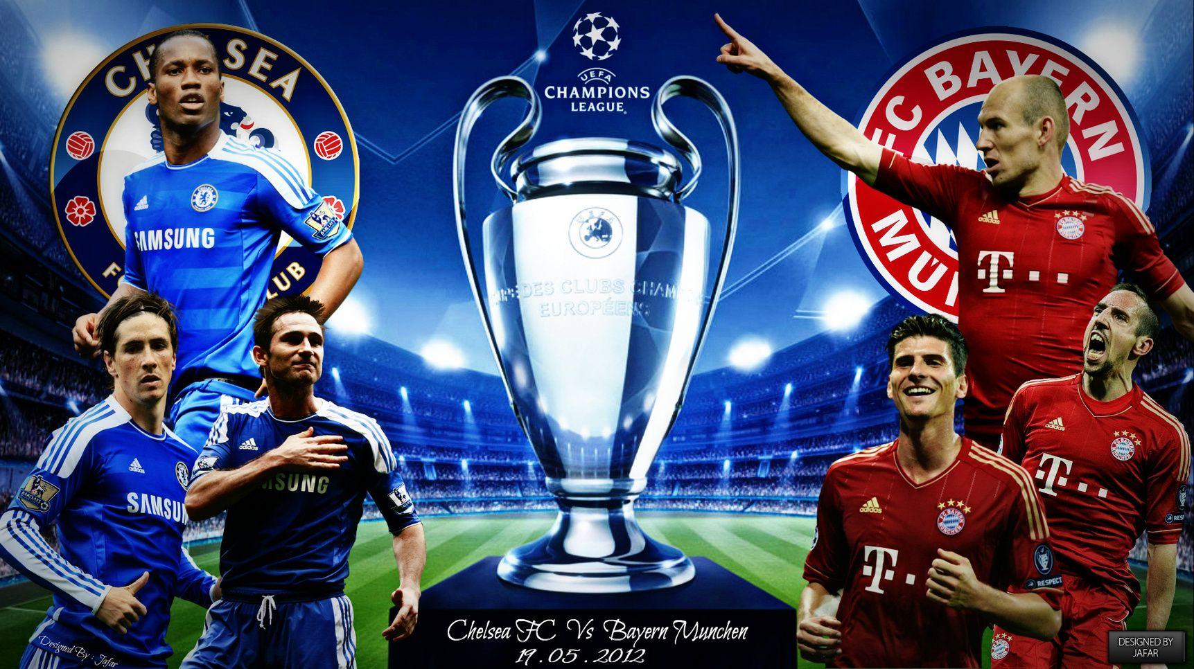 Chelsea FC Champions League Wallpaper