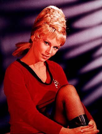 Star Trek Women Yeoman Janice Rand Crazy Hairstyle A Sort Of