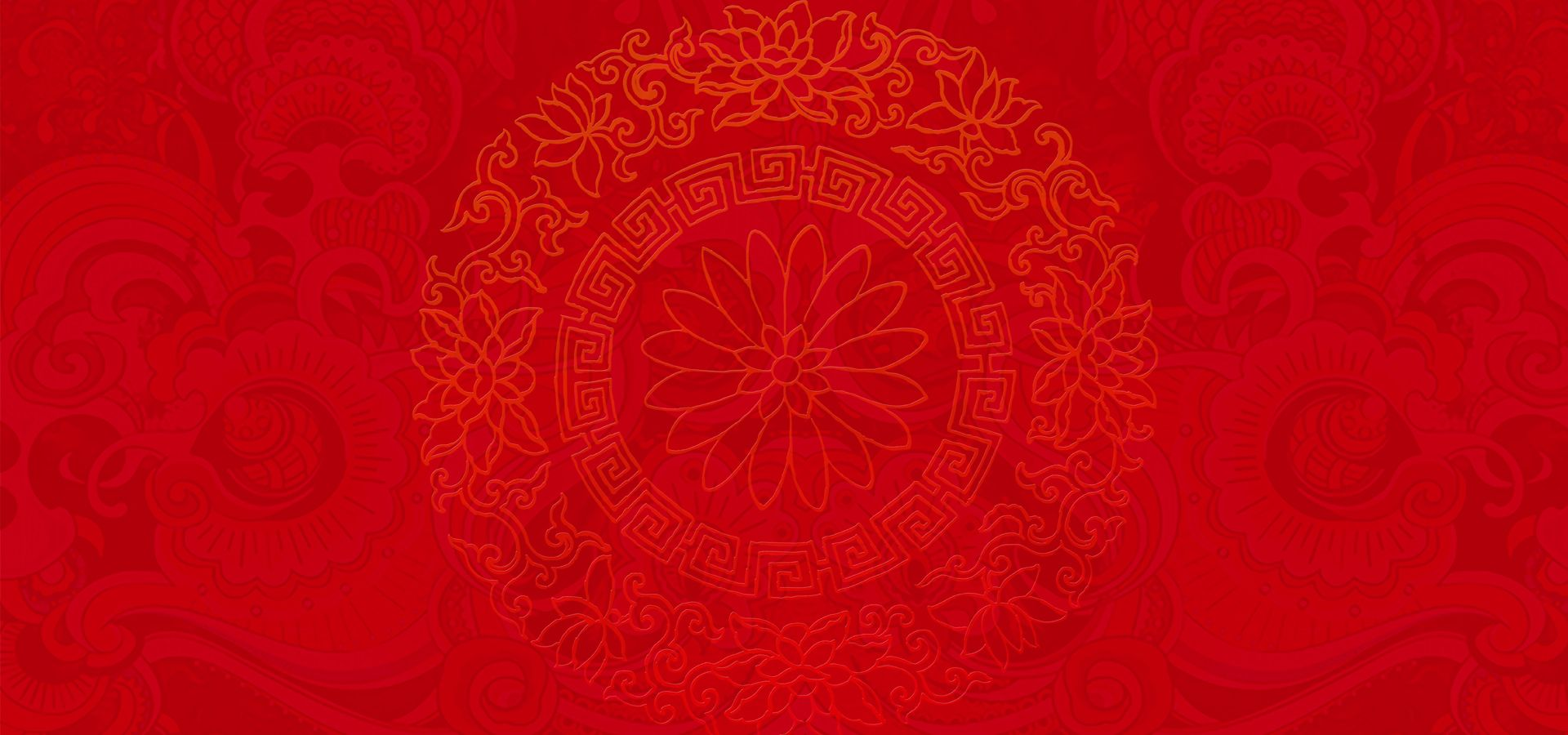 Chinese New Year Festive Red Theme in 2019  Chinese new