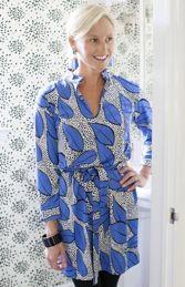 Devon Baer // Tasha Matte Jersey Dress Cornflower