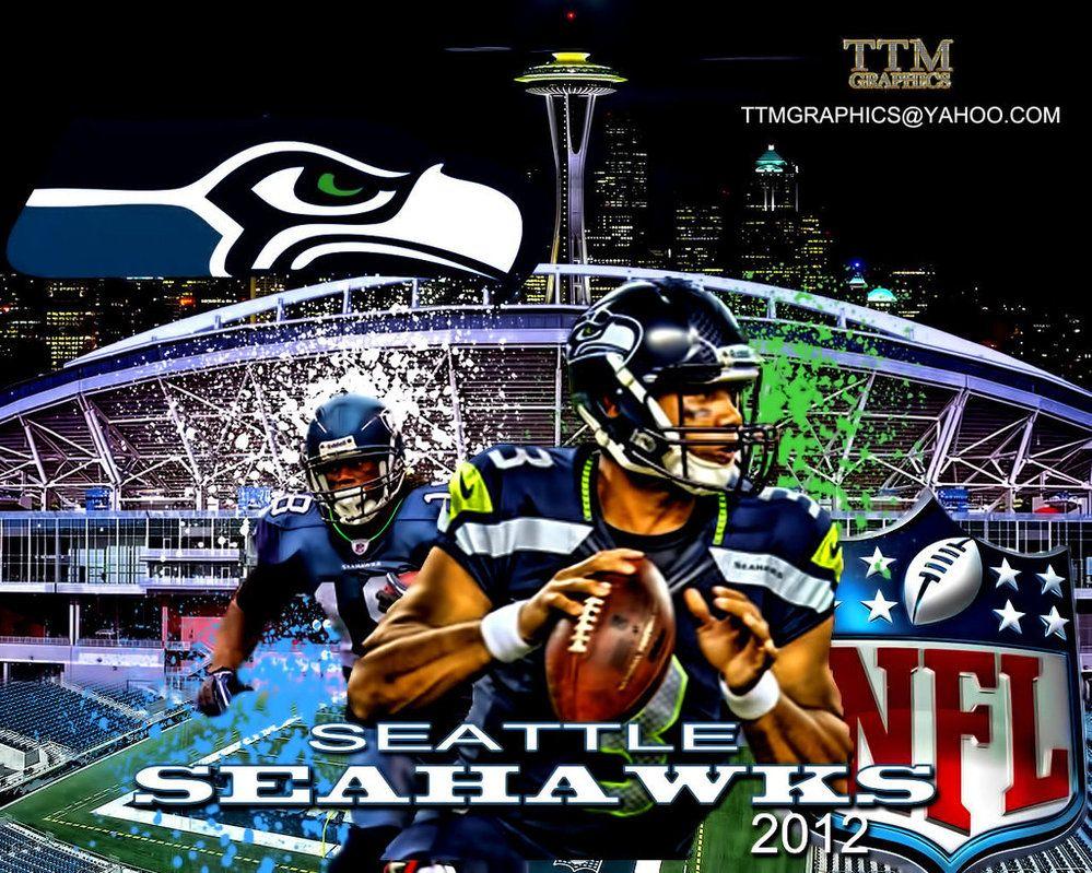 Seahawks clip art seattle seahawks wallpaper by tmarried seahawks pinterest clip art - Seahawks wallpaper russell wilson ...