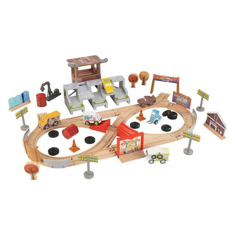 c592e95afae KidKraft Disney Pixar Cars 3 50 Piece Thunder Hollow Track Set - 17212
