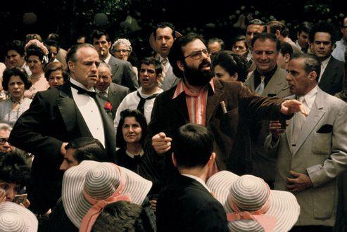 The Godfather Marlon Brando Don Vito Corleone Al Pacino Michael Corleone James Caan Sonny Corleone Richard S Castella Krestnyj Otec Marlon Brando Papy