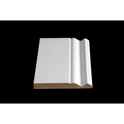 Home Depot Baseboards Alexandria Moulding Primed Mdf Base 5 8 X 9 16