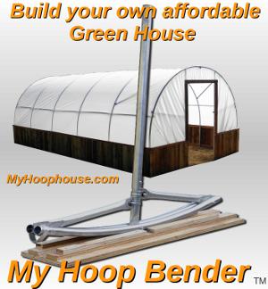 My Hoop House Greenhouses Hoop Benders Greenhouse Education