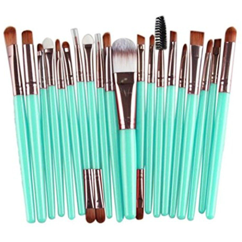 Nibito 20 pcs Makeup Brush Set tools Makeup Toiletry Kit