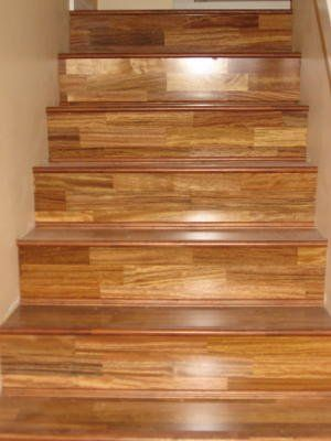 Elegant Windmill Home Services   Engineered Hardwood Stairs Install.   Burnaby, BC,  Canada