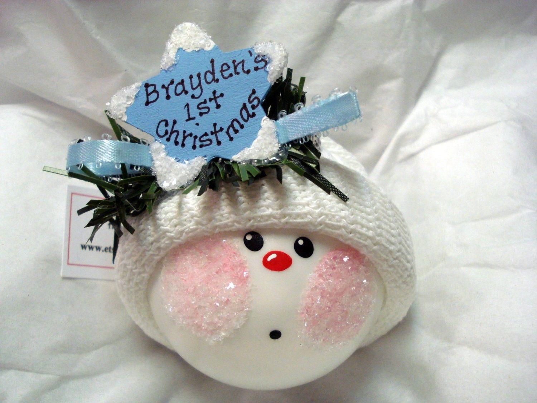 Baby Christmas Ornaments To Make