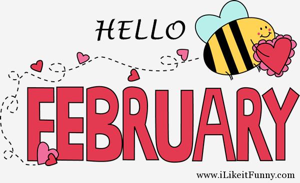 hello february funny images february 2016 calendar february rh pinterest com au february 2017 calendar clipart february calendar clip art free