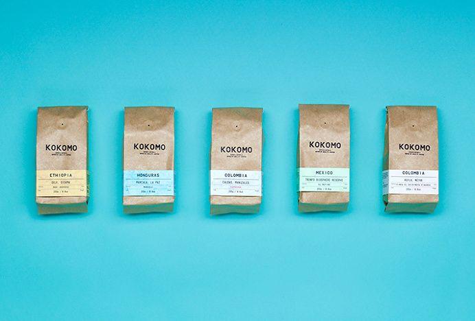 Kokomo By Aku Packaging Coffee In Packaging And Labeling Packaging Design Inspiration Creative Packaging Design Minimal Web Design