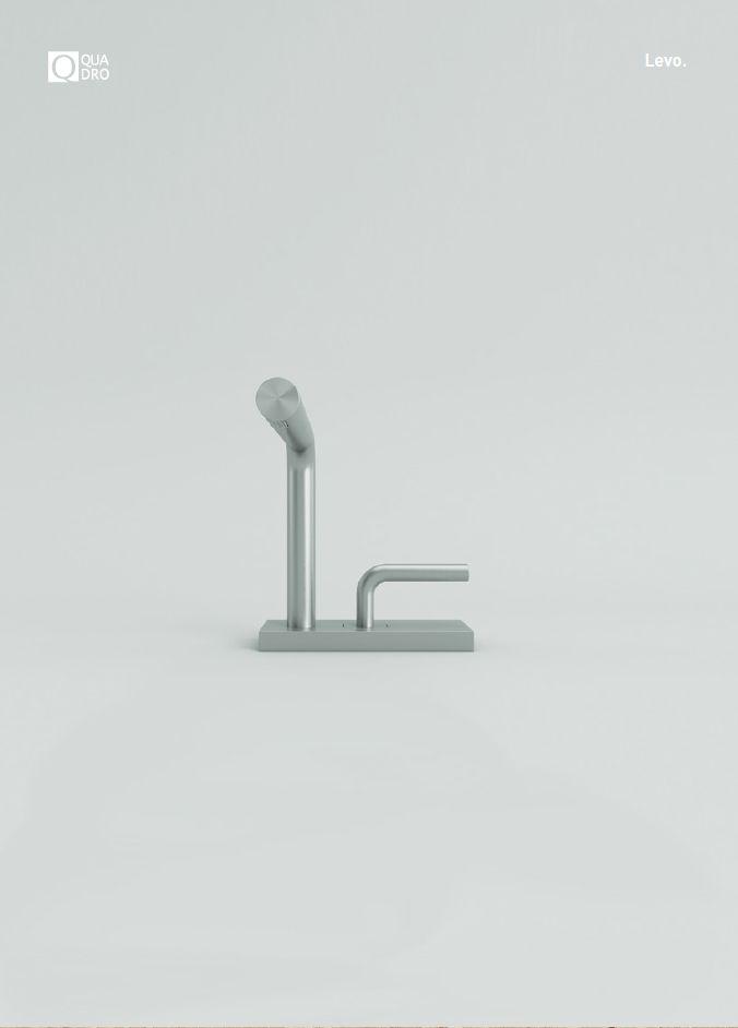NOVEDADES QUADRO. Salone Internazionale del Bagno 2016 (Milán).  QUADRO celebrar sus 15 años de producción de acero inoxidable en el Salone Internazionale del Bagno 2016 con muchos nuevos productos.  LEVO, la nueva serie de baño diseñada por el arquitecto Romano Adolini. #griferia #baño #design