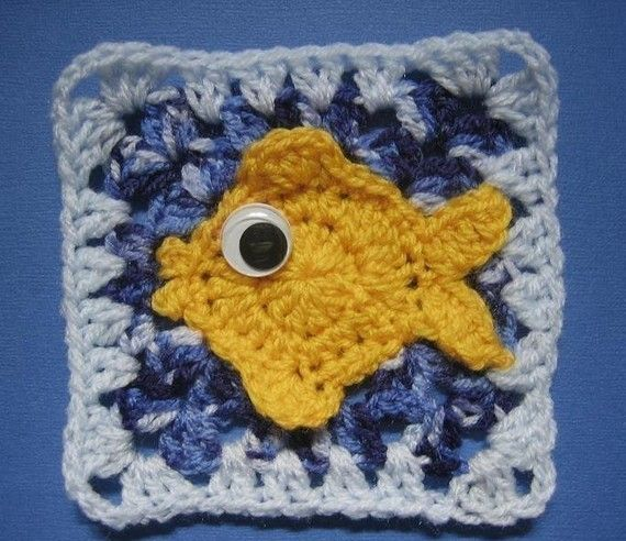 Making a bunch of these with crochet eyes, & sewing together would ...