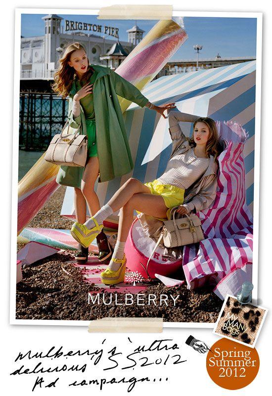 2f6a4ba620e0 Mulberry Spring Summer 2012 Ad Campaign