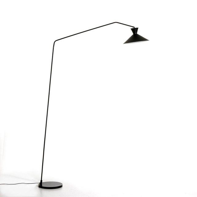Le lampadaire Voltige Une ligne élégante et sobre et une forme arc - Hauteur Table Salle A Manger