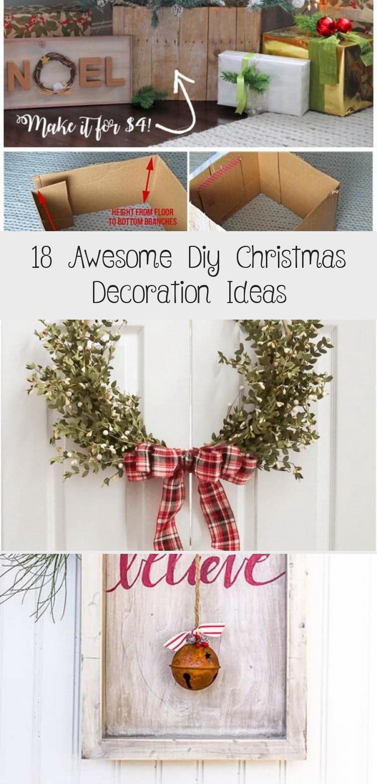 Photo of 18 Awesome Diy Christmas Decoration Ideas – Home Decor Diy