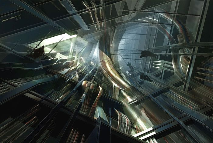 Citadel Hl Half Life Game Half Life Game Concept Art