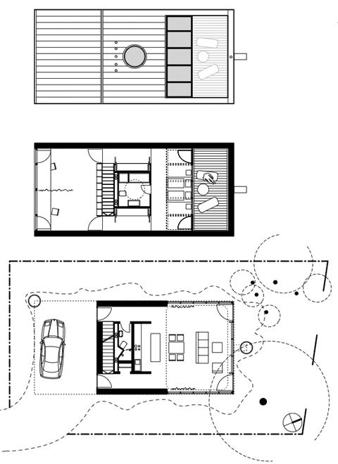Eye Catching Home Design with Red Exterior l House Plan house