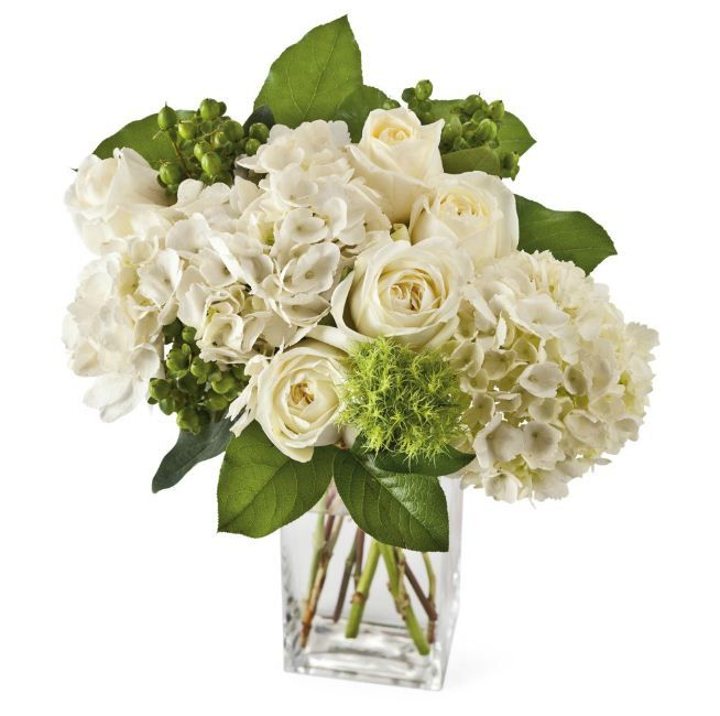 Elegant Blooms Bouquet - Associated with purity and young love, the