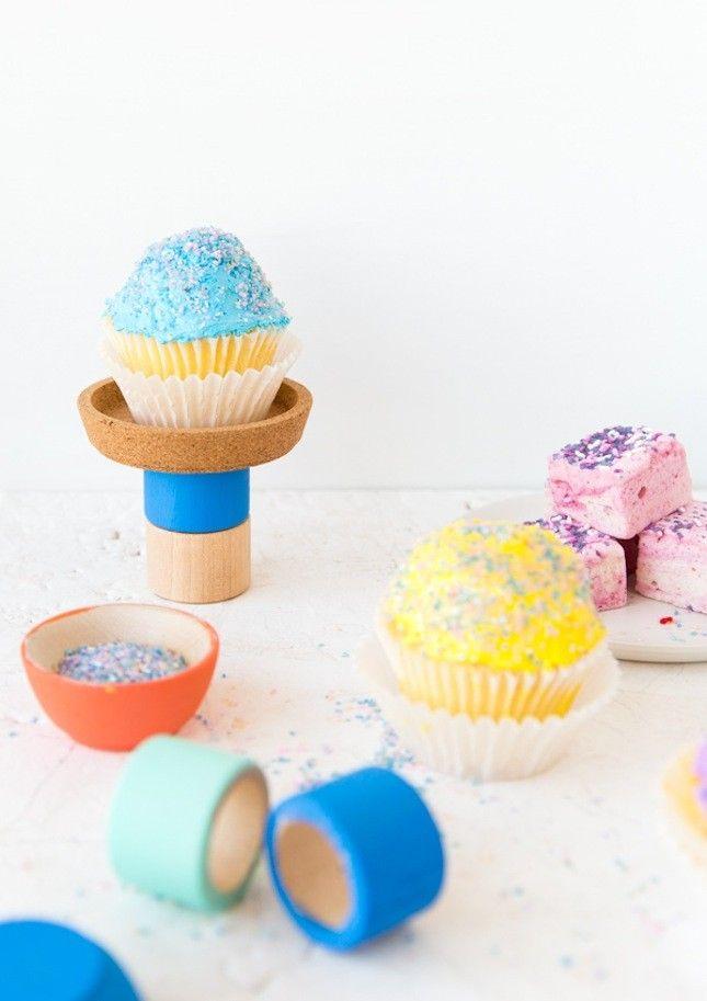 What to Make This Weekend: Rainbow Stationery, Pom Pom Headband + More via Brit + Co