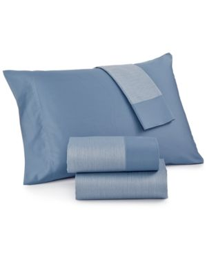 charter club reversible california king 4 pc sheet set 550 thread count only at macy s blue