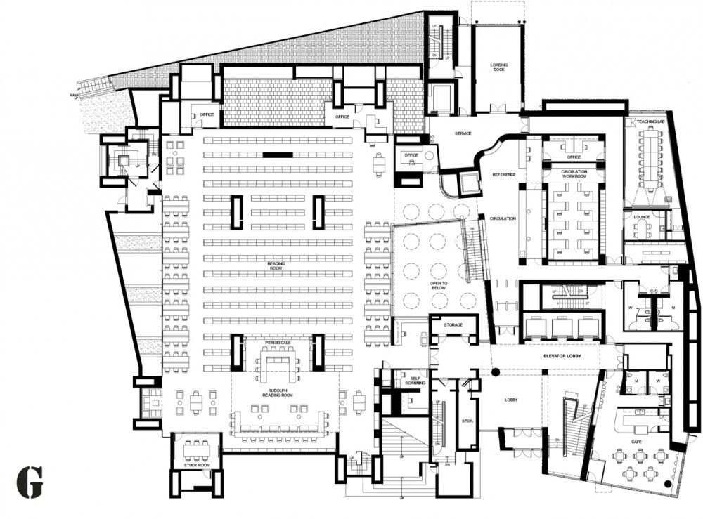 Yale Art Architecture Building Gwathmey Siegel Associates
