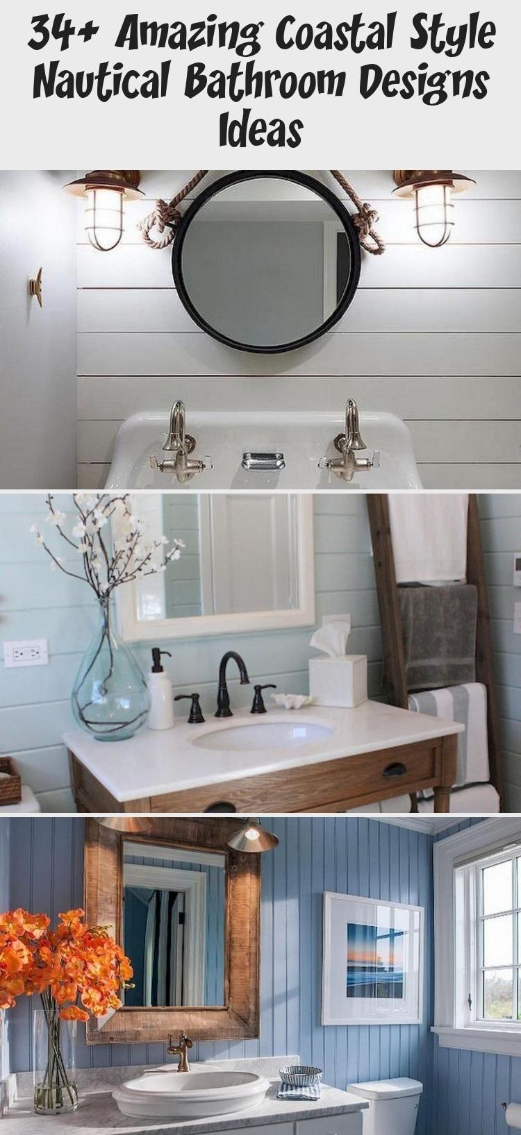 A Comprehensive Overview On Home Decoration In 2020 Nautical Bathroom Design Ideas Coastal Bathroom Decor Rustic Bathrooms