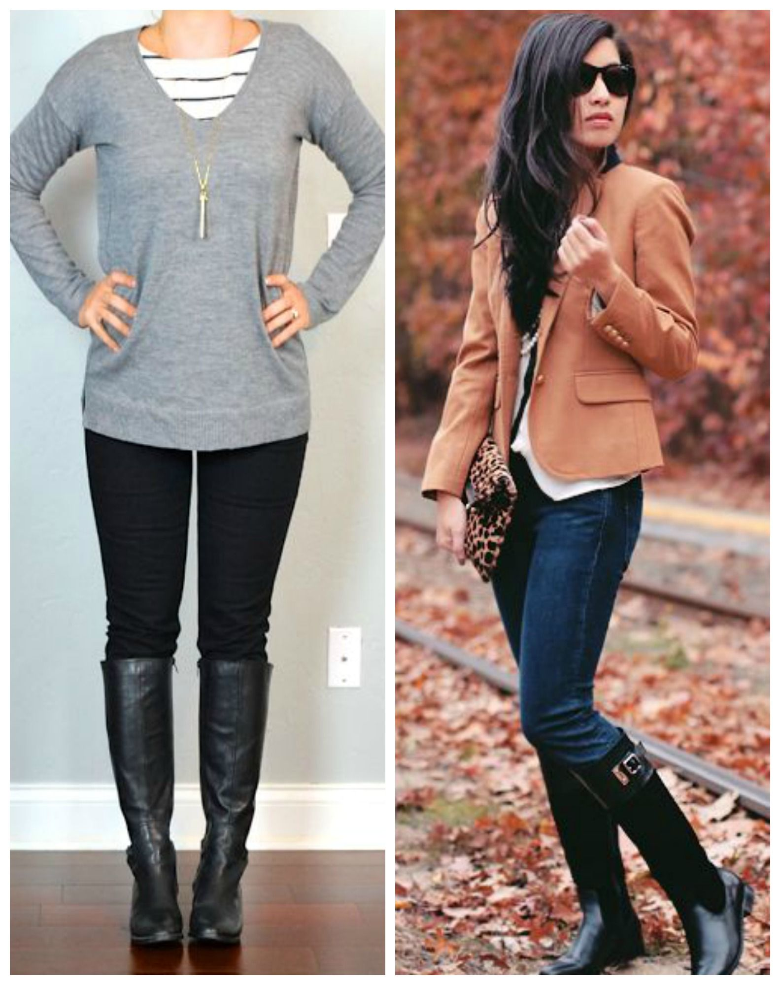 Black riding boots outfits. | Get Your Pretty On | Outfits   Style ...