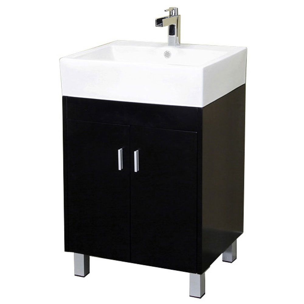 bradford 23-inch single vanity in dark espresso with