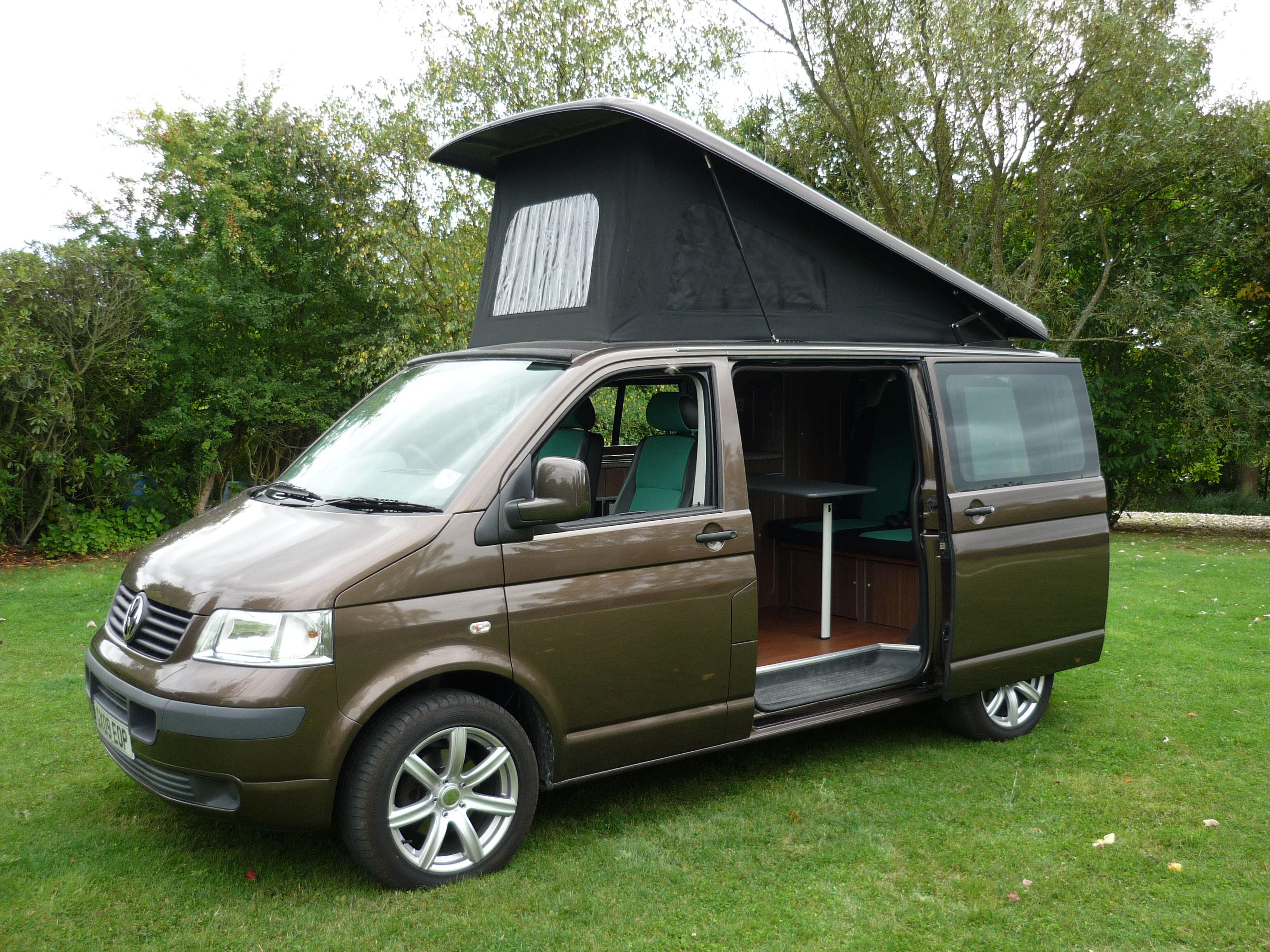 The Ever Popular VW T5 Campervan Conversion Caledonia From Sussex Campervans This One
