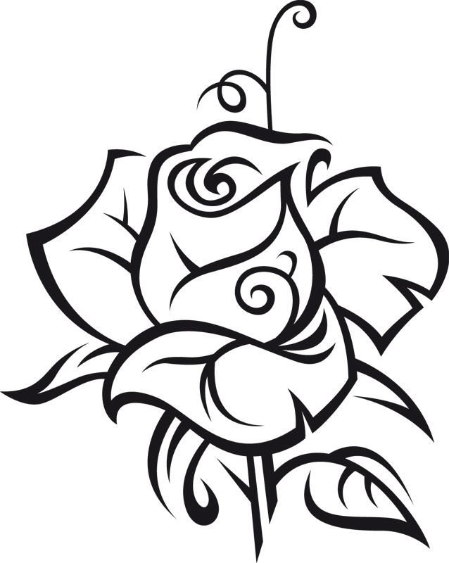 rose art coloring pages - photo#18